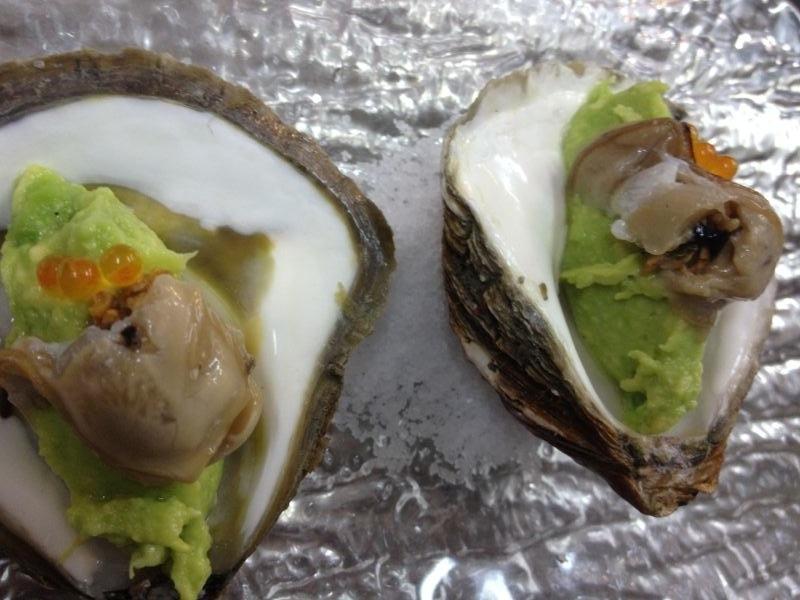 guacamole ostras