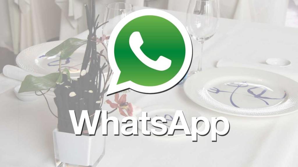 Reservas por Whatsapp en Etxanobe