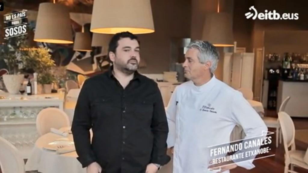 Fernando Canales en No es País Para Sosos de Eitb