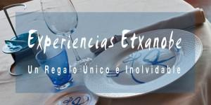regalo gastronómico en Etxanobe Bilbao